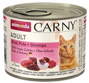 Animonda Carny Adult Indyk + Krewetki puszka 200g
