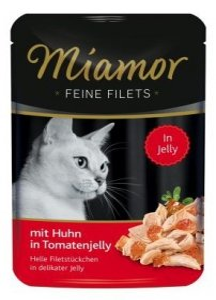 Miamor Feine Filets Saszetka Huhn & Tomate 100g