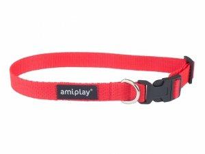 Amiplay Obroża Basic S 20-35/1cm czerwona