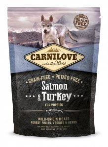Carnilove Salmon and Turkey Puppies 1,5kg