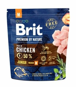 Brit Premium By Nature Junior M 1kg