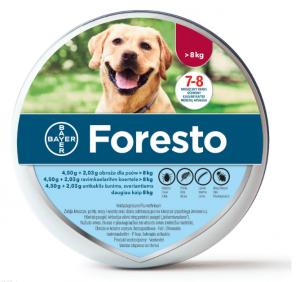 BAYER FORESTO Obroża dla psa powyżej 8kg