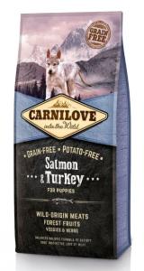 Carnilove Salmon Turkey Puppy 12kg