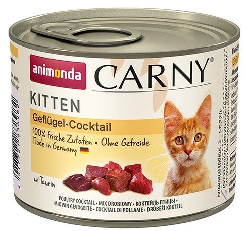 Animonda Carny Kitten Koktajl Drobiowy puszka 200g