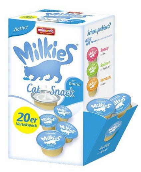 Animonda Kot Milkies Active 20x15g