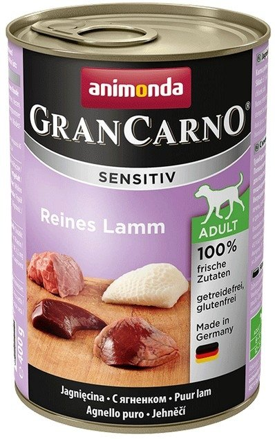 Animonda GranCarno Sensitiv Jagnięcina 400g