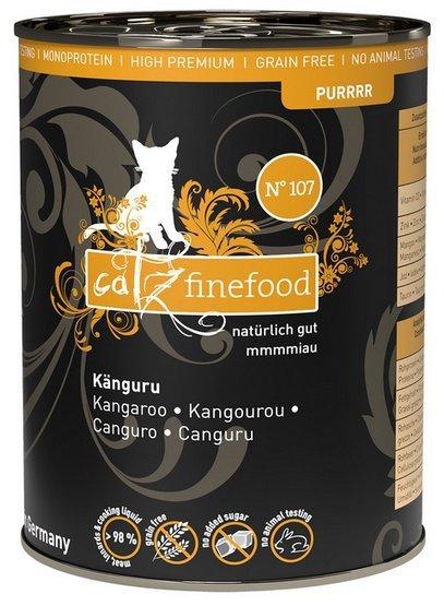 Catz Finefood Purrrr N.107 Kangur puszka 400g