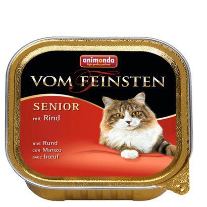 Animonda vom Feinsten Senior z Wołowiną tacka 100g