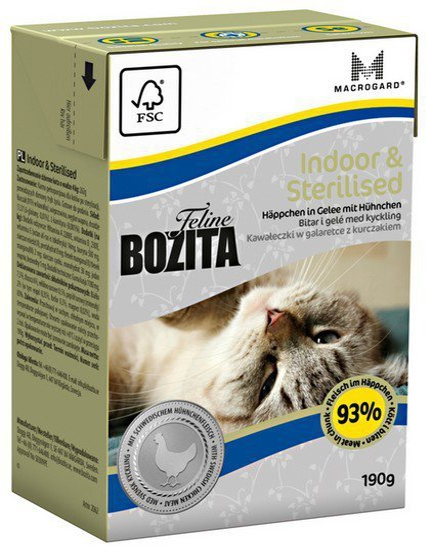 Bozita Cat Indoor Sterilised 190g