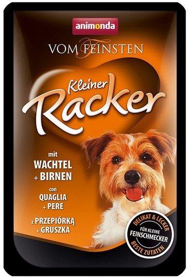 Animonda vom Feinsten Kleiner Racker z przepiórką i gruszką 85g