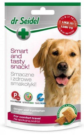 Dr Seidel Smakołyki dla psów na spokojną podróż 90g
