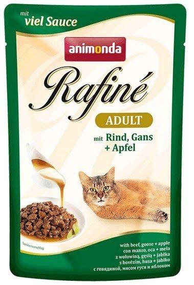 Animonda Rafiné Soupé Adult Wołowina i Gęś + Jabłko saszetka 100g