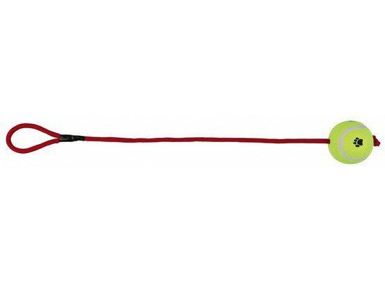 Trixie Piłka tenisowa na sznurku 6cm/50cm [3479]