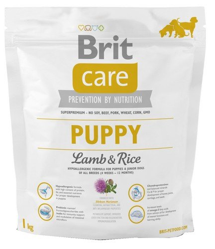 Brit Care Puppy Lamb and Rice 1kg