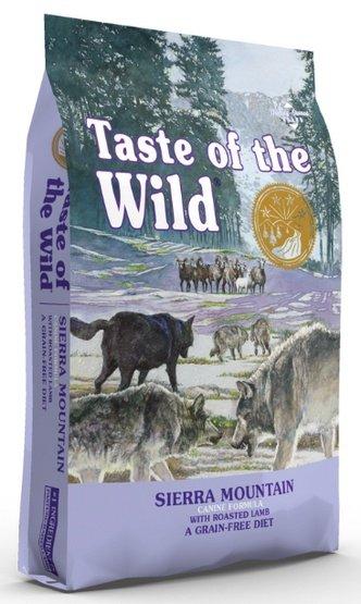 Taste of the Wild Sierra Mountain Canine z mięsem z jagnięciną 5,6kg