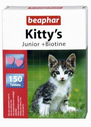 Beaphar Kitty's Junior + Biotine 150 tabletek