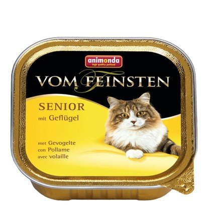 Animonda vom Feinsten Senior z Drobiem tacka 100g
