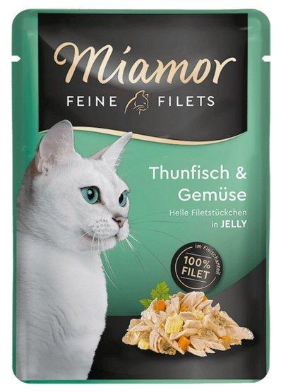 Miamor Feine Filets Tuńczyk & Warzywa saszetka 100g