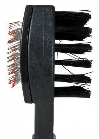 TRIXIE Szczotka miękka plastikowa dwustronna 10x17cm TX-2306