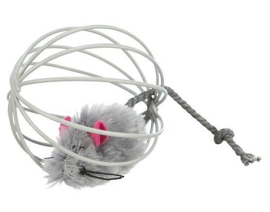 Trixie Piłka druciana z myszką [4115]