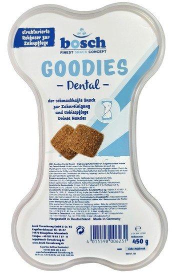 Bosch Finest Snack Goodies Dental pojemnik 450g