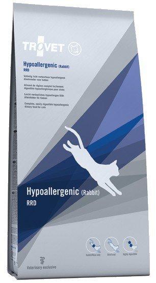 Trovet RRD Hypoallergenic Królik dla kota 500g