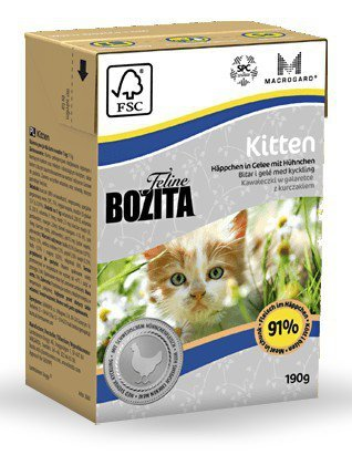 Bozita Cat Kitten 190g