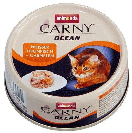 Animonda Carny Ocean tuńczyk i krewetki 80g