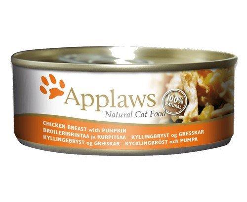 Applaws puszka dla kota Kurczak i Dynia 156g