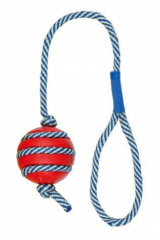 Trixie Piłka ze sznurkiem 5/40cm [34961]