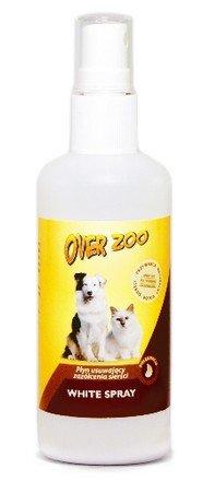 Over Zoo White Spray - płyn usuwający zażółcenia sierści  100ml