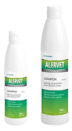 Eurowet Alervet - szampon łagodzący podrażnienia 500ml