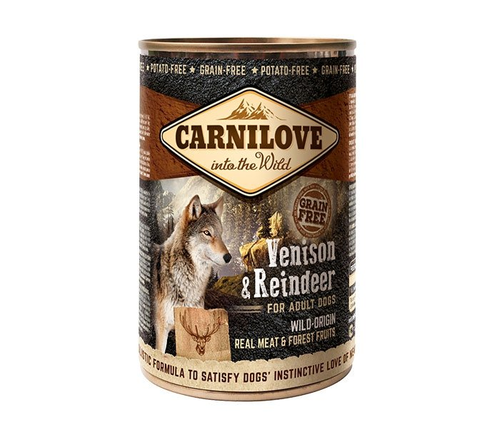 Carnilove Venison and Reindeer Adult 400g