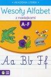 Wesoły alfabet z naklejkami A-F