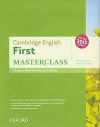 Cambridge English First Masterclass Student's Book +Online