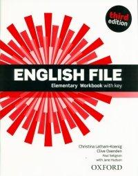 English File 3E Elementary Workbook with Key