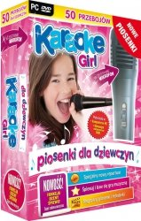 Karaoke Girl z mikrofonem (PC-DVD)