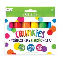 Farba w kredce 6 sztuk Chunkies Paint Sticks