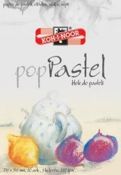 Blok do pasteli Pop pastel 245x345mm 20 arkuszy