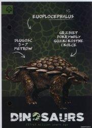Wkład do segregatora A6 Dinozaur mix
