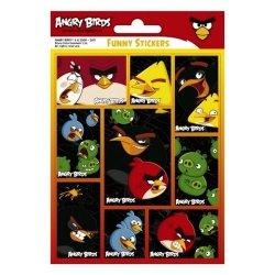 Nalepki Funny Angry Birds 25 sztuk