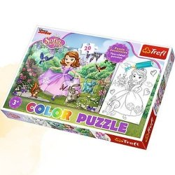 Puzzle Color 20 Sofia wśród drzew