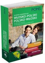Słownik uniwersalny włosko-polski/polsko-włoski 40 000 haseł i zwrotów