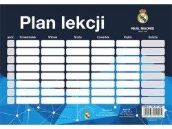 Plan lekcji Real Madrid 25 sztuk