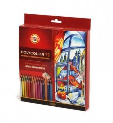 Kredki artystyczne Polycolor 72 kolory