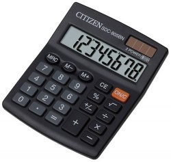 Kalkulator biurowy Citizen SDC-805BN czarny