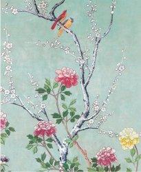 Karnet 17x14cm z kopertą Chinese blossom