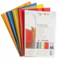 Okładka na zeszyt A4 GIMBOO krystaliczna żółta 25 sztuk