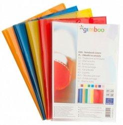 Okładka na zeszyt A5 GIMBOO krystaliczna 25 sztuk  mix kolorów