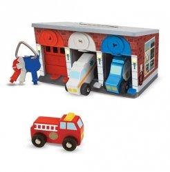 Garaż dla pojazdów uprzywilejowanych z kluczykami